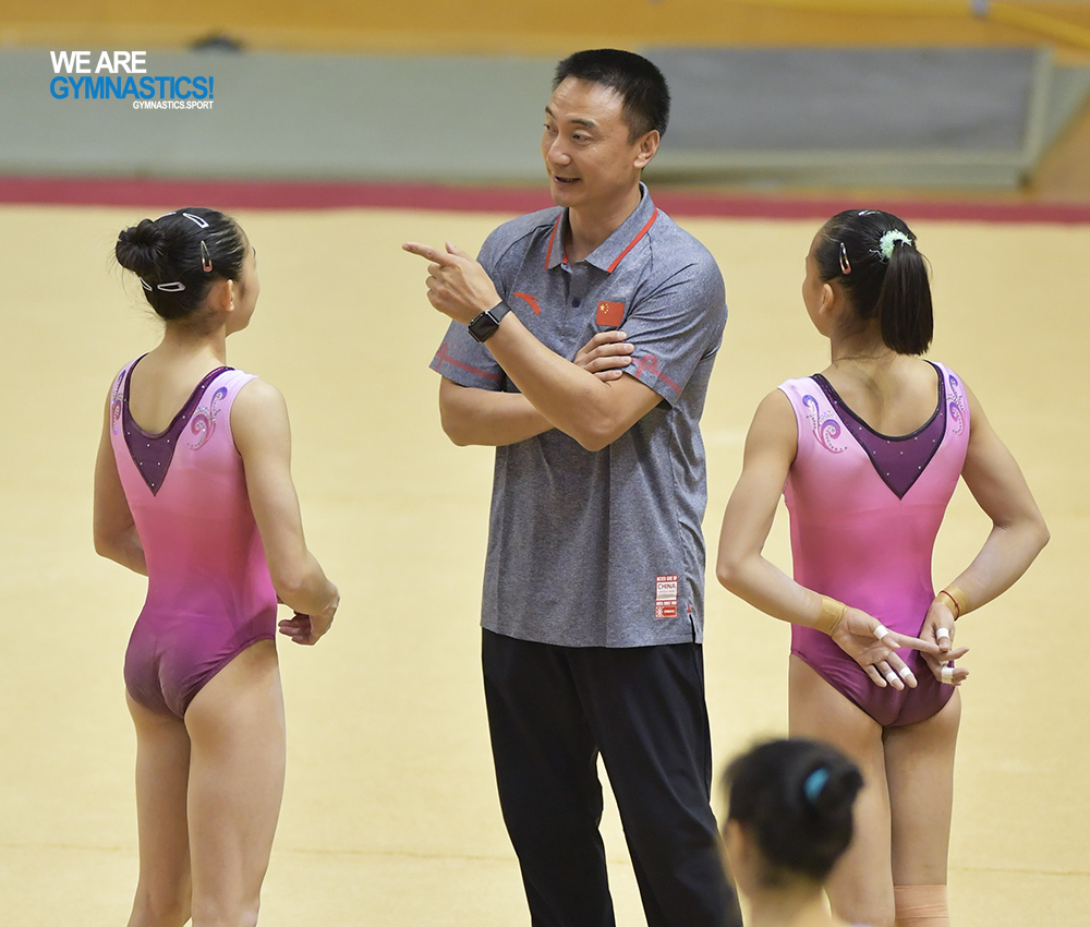 Serious? chinese olympic gymnastics training