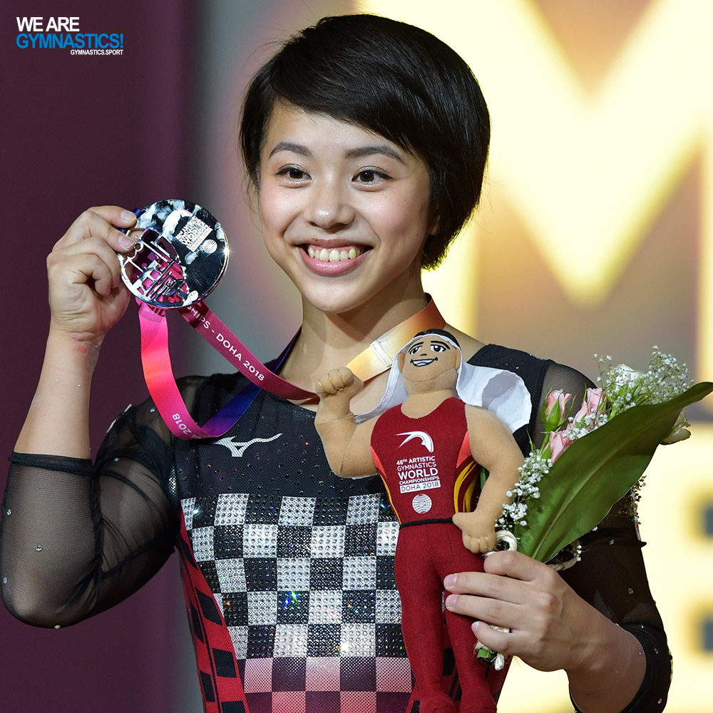 Mai Murakami made history for Japan in Doha with the All-around silver.